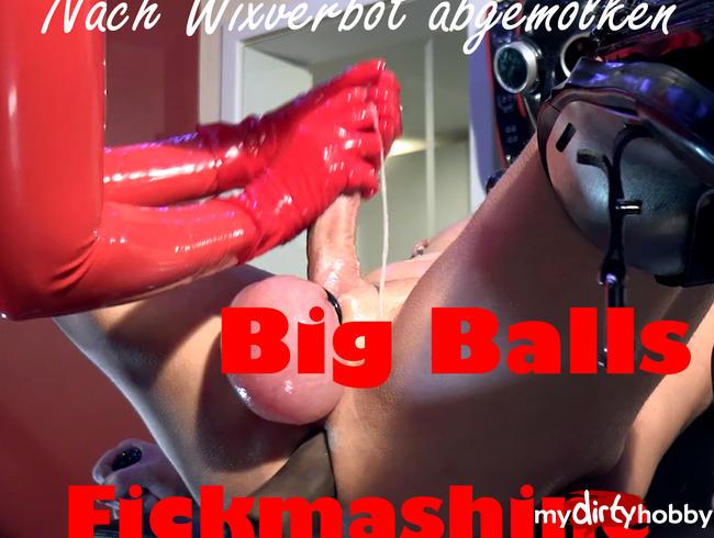Video Thumbnail Nacuh Wixverbot abgemolken + Big Balls + Fickmaschine