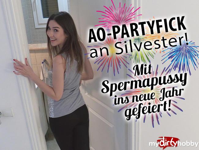 Video Thumbnail AO Partyfick an Silvester! Mit Spermapussy ins neue Jahr gefeiert!