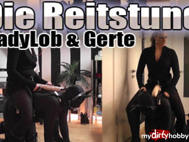 Video Thumbnail Die Reitstunde! LadyLob und Gerte!