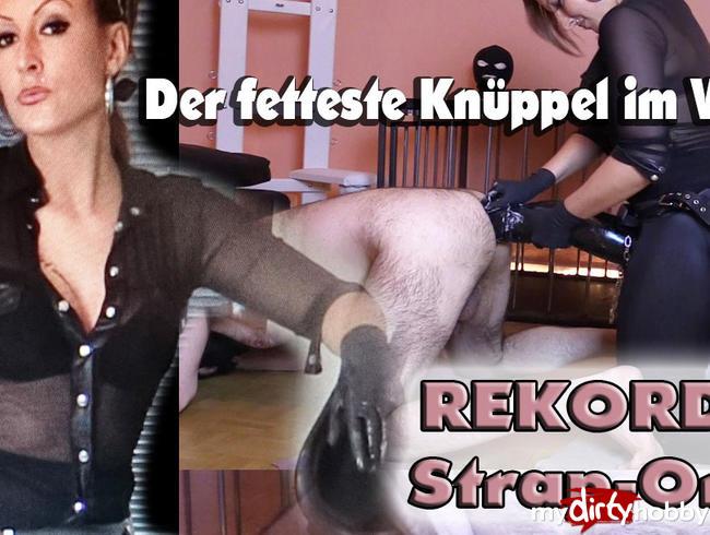 Video Thumbnail REKORD STRAP-ON! Der fetteste Knüppel-Arschfick im WEB