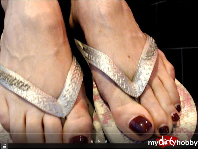 Video Thumbnail Flip Flops und Füße