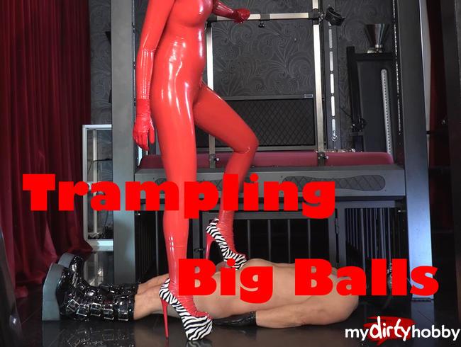 Video Thumbnail Trampling + Big Balls