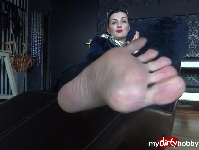 Video Thumbnail Füße riechen und geil abspritzen!