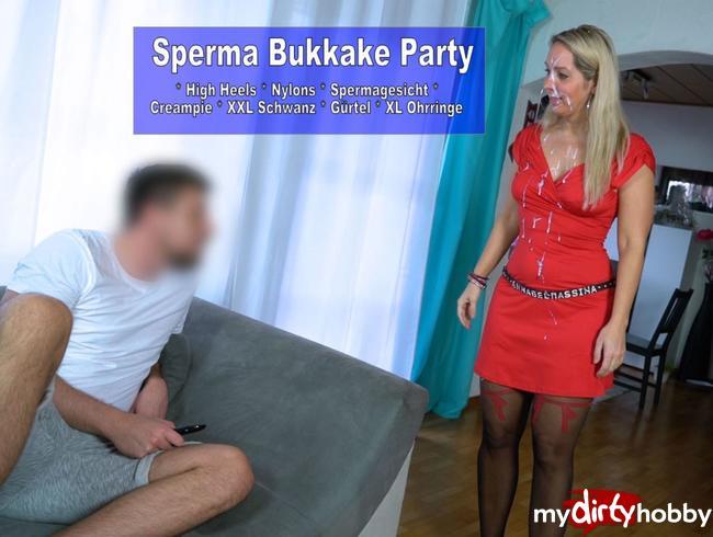 Video Thumbnail Bukkake Party und noch ein Fick
