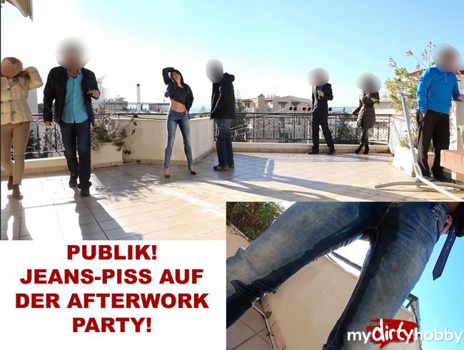 Video Thumbnail PUBLIK JEANS-PISS AUF DER AFTERWORK-PARTY