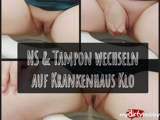 Video Thumbnail NS inkl. Tampon wechseln auf Krankenhaus Klo