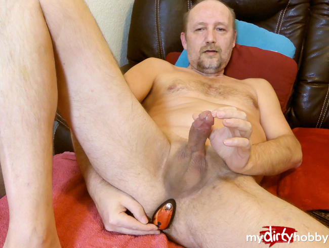 Video Thumbnail mein Mann testet Anal Vibrator