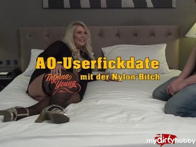 Video Thumbnail AO-Userfickdate mit der Nylonbitch!