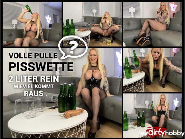 Video Thumbnail Volle Pulle Pisswette - 2 Liter rein - wieviel kommt raus. :-O