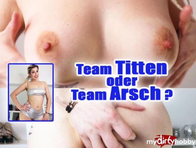 Video Thumbnail Team TITTEN oder Team ARSCH?