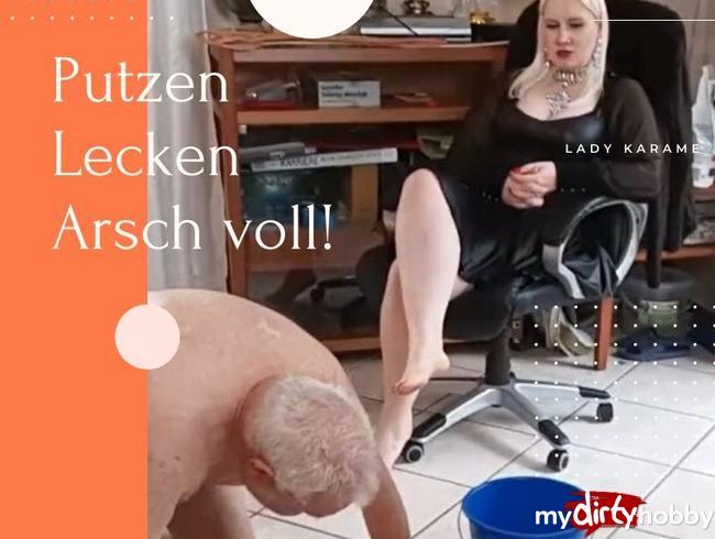 Video Thumbnail Putzen, lecken, Arsch voll