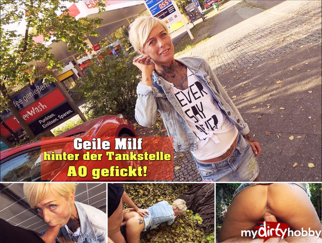 Video Thumbnail Geile Milf hinter der Tankstelle AO gefickt