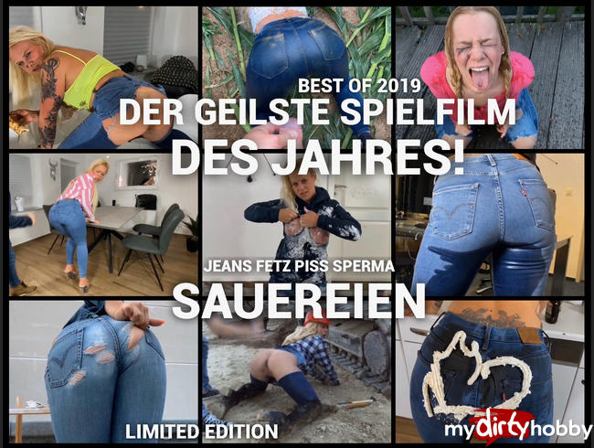 Video Thumbnail Der geilste Spielfilm des Jahres ! Jeans Fetz Piss Sperma Sauereien - Best of 2019