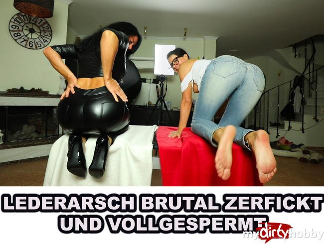 Video Thumbnail LEDERARSCH BRUTAL ZERFICKT UND VOLLGESPERMT Compilation