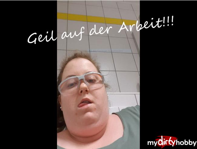 Video Thumbnail Auf der Arbeit HEIMLICH masturbiert, weil ich sooooo mega geil war....