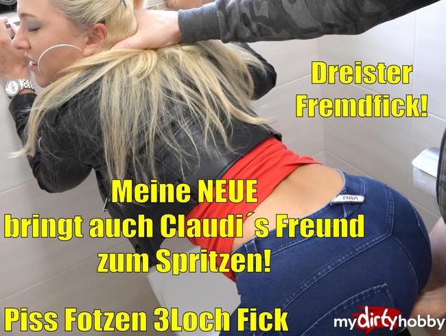 Video Thumbnail Meine NEUE bringt auch Claudi´s Freund zum Spritzen | Piss Fotzen 3 Loch Fremdfick!