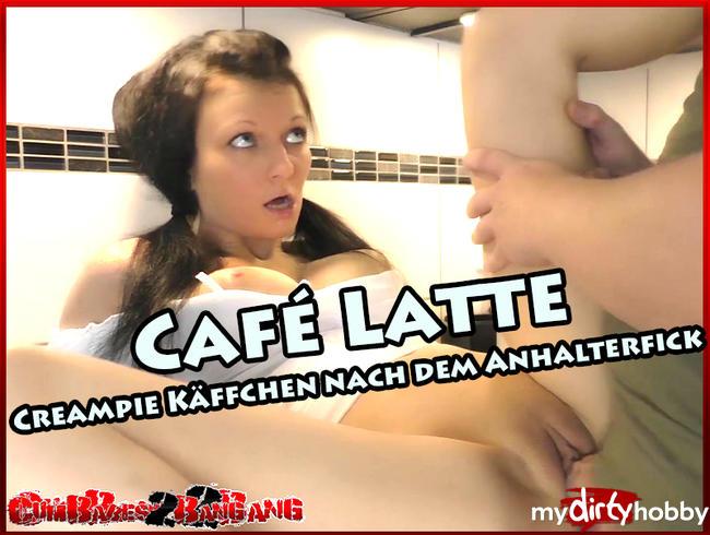 Video Thumbnail Café Latte - Creampie Käffchen nach dem Anhalterfick