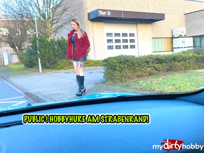 Video Thumbnail RISKANT-PUBLIC! HOBBYHURE AM STRAßENRAND!!!