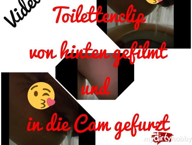 Video Thumbnail Toilettenclip von hinten gefilmt...und direkt in die Cam gefurzt!