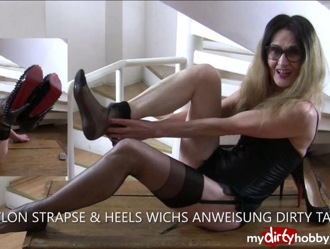 Video Thumbnail NYLON STRAPSE & HEELS WICHS ANWEISUNG DIRTY TALK