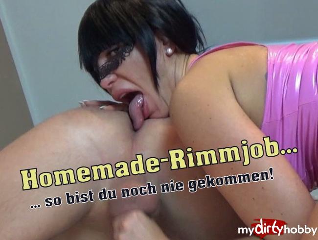 Video Thumbnail Homemade-Rimmjob ... so bist du noch nie gekommen!