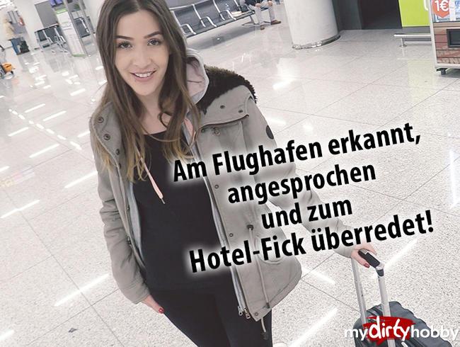 Video Thumbnail Am Flughafen erkannt, angesprochen und zum Hotel-Fick überredet!