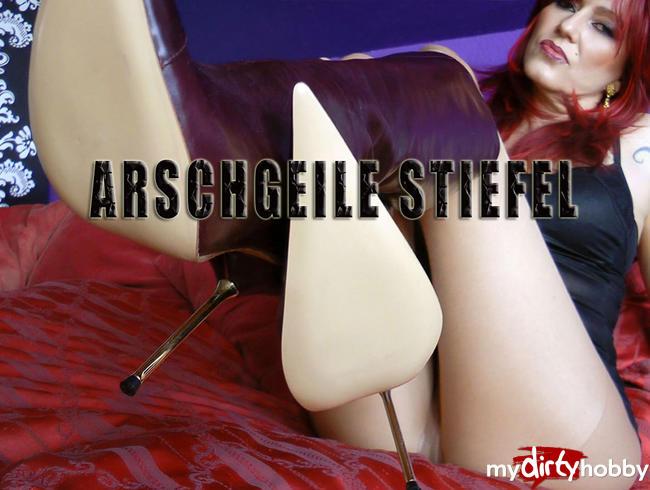 Video Thumbnail Arschgeile Stiefel! Arschgeile Demütigung!