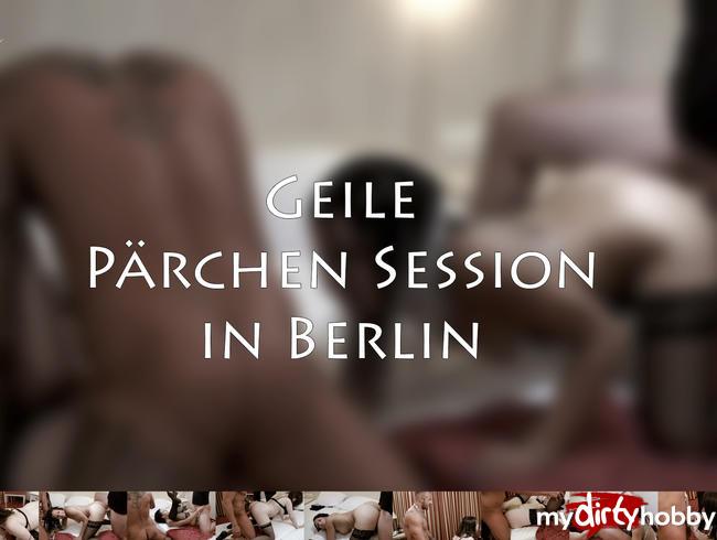 Video Thumbnail Meine allererste Geile Pärchen session in Berlin!!!!