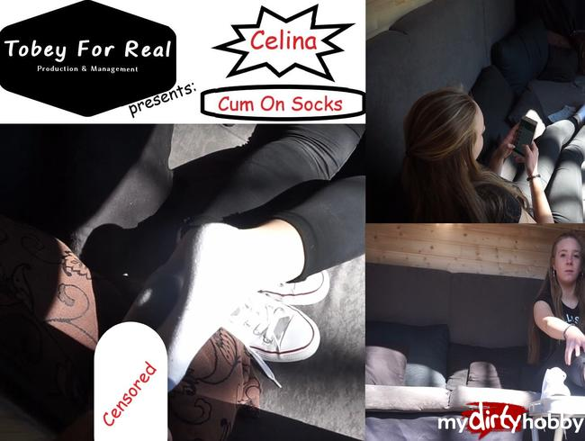 Video Thumbnail Celina - Casting Bus - Season 1 - Episode 7 - Cum On Socks