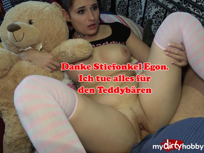 Melina-May - Stiefonkel Egon schenkt mir einen Teddybären