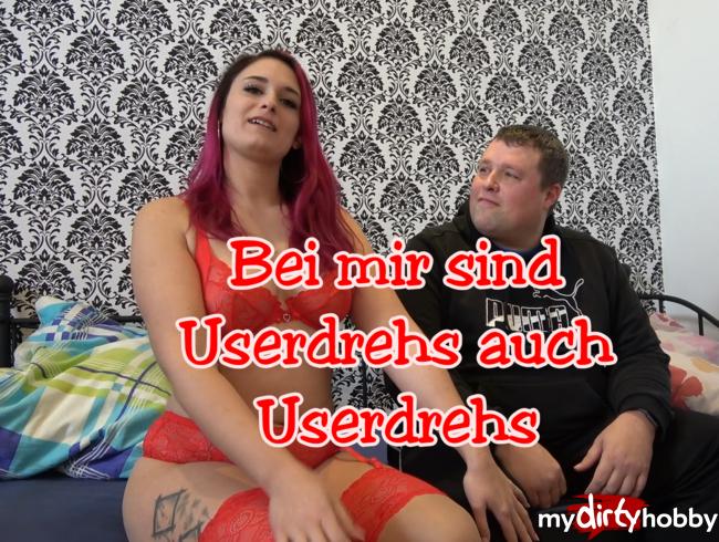 """Video Thumbnail Bei mir sind Userdrehs auch """"Userdrehs"""""""