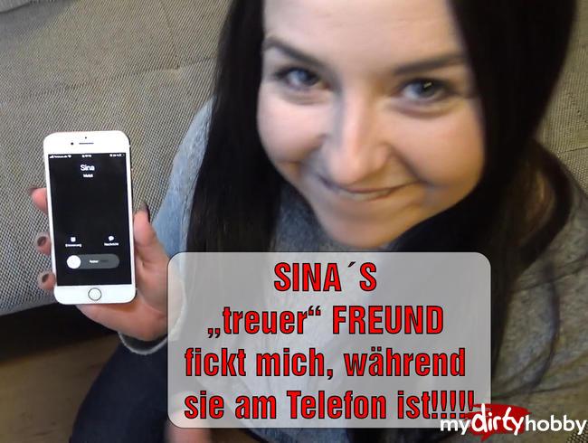 """Video Thumbnail SINA'S """"treuer"""" FREUND fickt mich, während sie am Telefon ist!!!!!"""