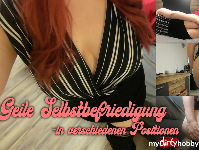 Video Thumbnail Wunschvideo von Marcel: Geile Selbstbefriedigung - in verschiedenen Positionen
