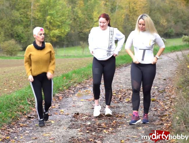 Video Thumbnail Voyeur und 3 geile Fickspalten