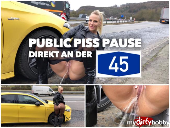Video Thumbnail PUBLIC PISS an der A45 | Natursekt Pause auf dem Parkplatz
