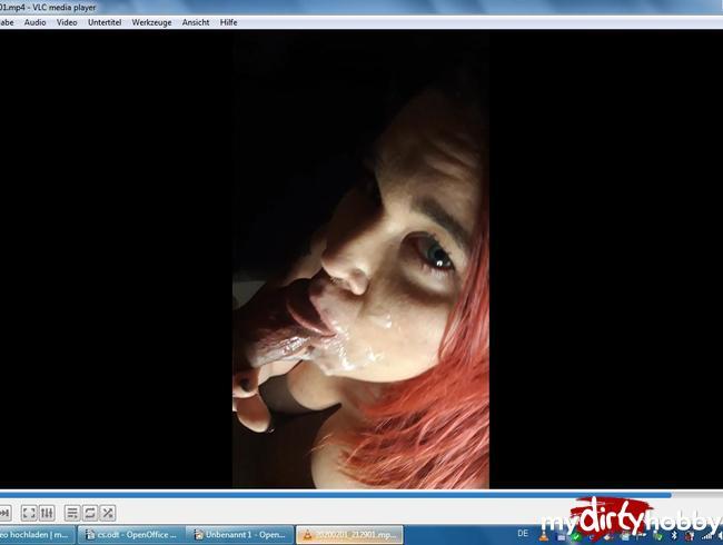 Video Thumbnail Gesichtsbesamung - er hat mir geil mein Maul zerfickt