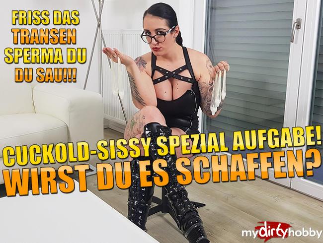 Video Thumbnail Cuckold-Sissy Spezial Aufgabe! Wirst Du es schaffen?