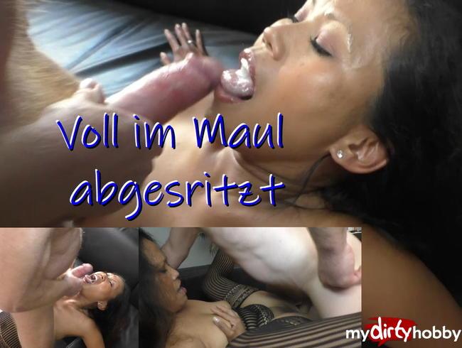 Video Thumbnail Voll im Maul abgespritzt