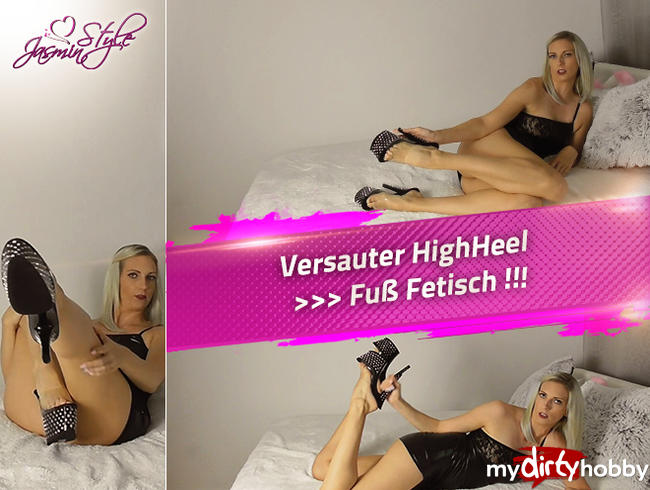 Video Thumbnail Versauter HighHeel >>> Fuß Fetisch !!!