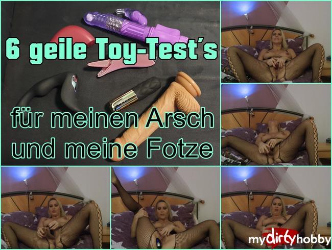 Video Thumbnail 6 Toys für meinenm Arsch und Fotze