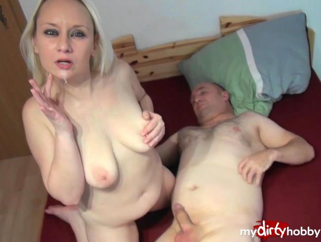 Video Thumbnail Ficksahne für mein Schleckermäulchen Userschwanz leer gesaugt Blasmundbesamung und Spermaspiele
