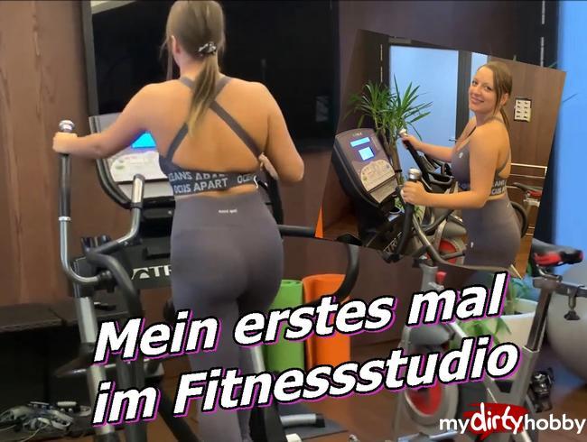 Video Thumbnail Mein erstes mal im Fitnessstudio