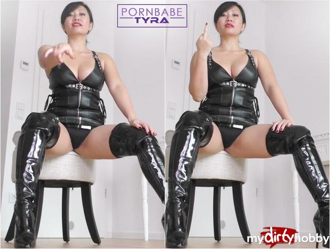 Video Thumbnail Wichssklave! Du wichst für deine Mistress Tyra!
