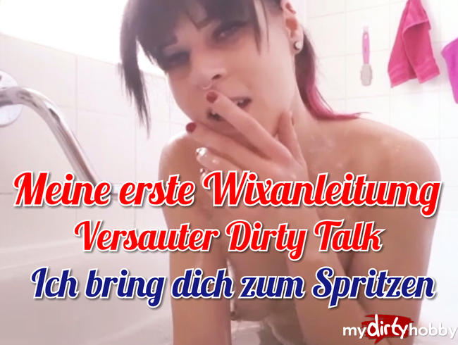 Video Thumbnail Meine erste Wixanleitung richtig versauter Dirty Talk