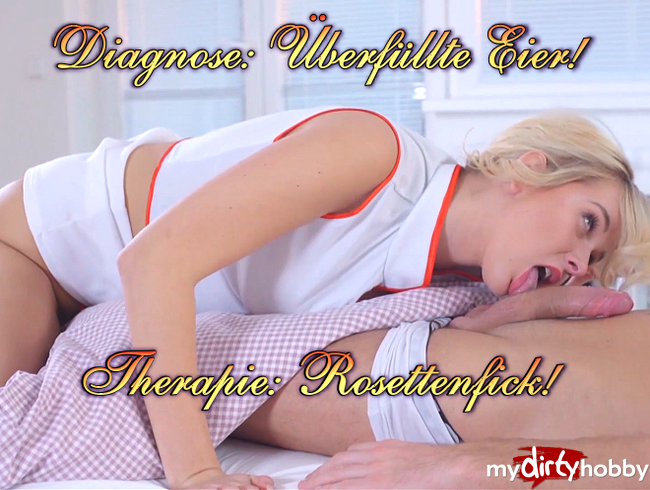 Video Thumbnail Diagnose: Überfüllte Eier! Therapie: Rosettenfick!