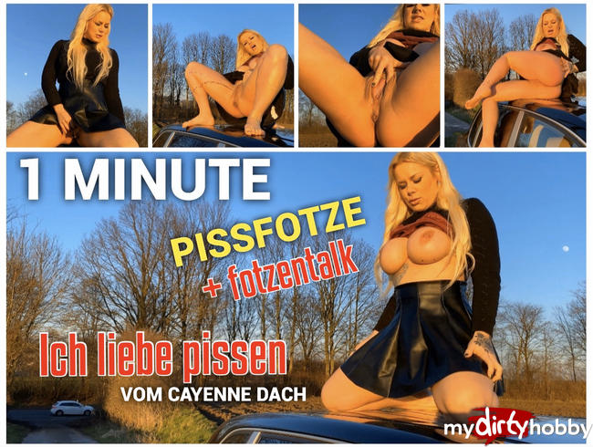 Video Thumbnail Pissfotzen Talk - versaut vom SUV Dach - Pissliebe :)