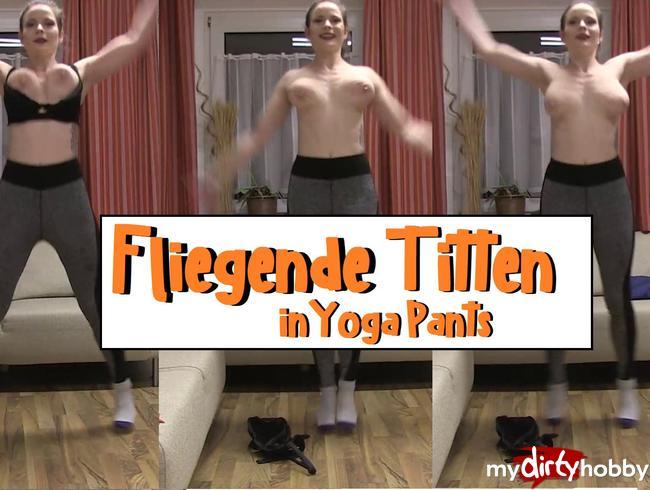 Video Thumbnail Fliegende Titten in Yoga Pants
