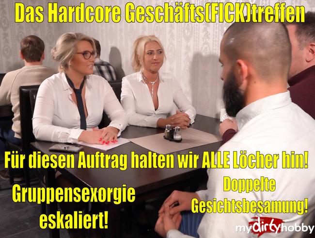 Video Thumbnail Das Hardcore Geschäfts(Fick)treffen | Für diesen Auftrag halten wir alle Löcher hin! Spermafinale!!!