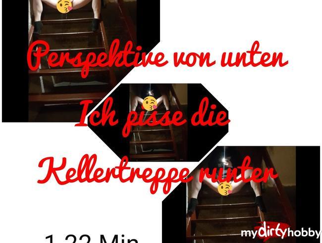 Video Thumbnail Perspektive unten: Ich pisse die Kellertreppe runter