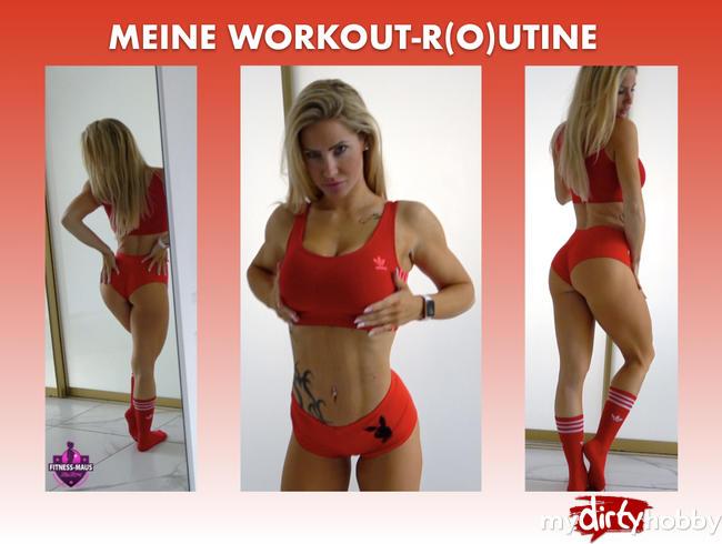 Video Thumbnail MEINE WORKOUT-R(O)UTINE